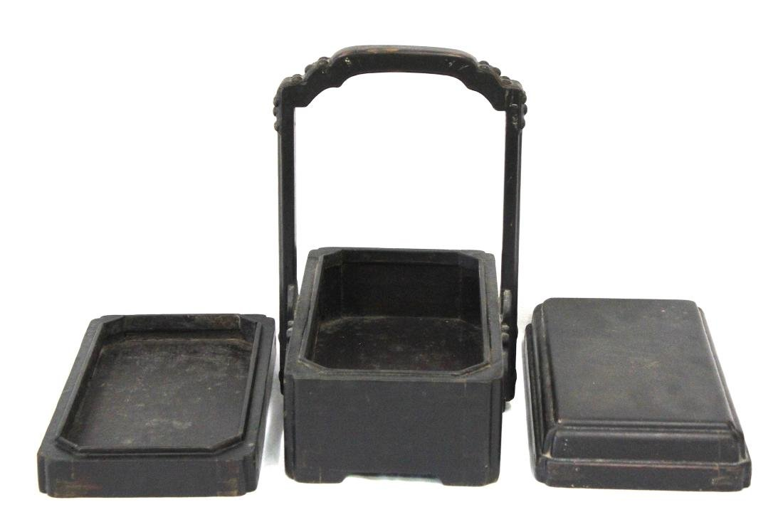 18th C. Chinese Lacquered Lunch Box - 2