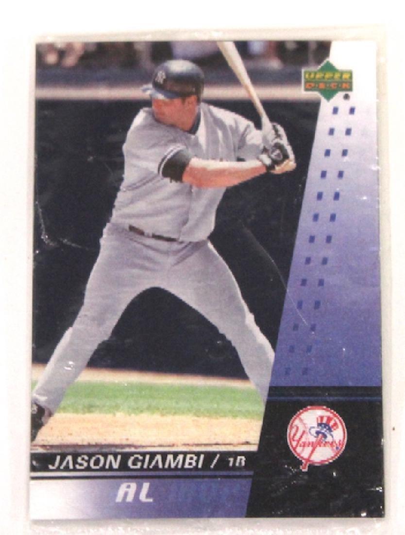Jason Giambi Upper Deck AL MVP Card
