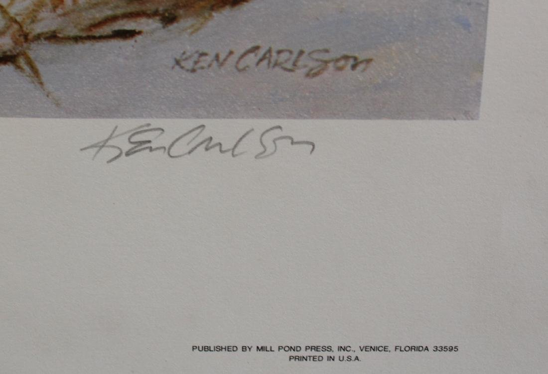 Ken Carlson Ltd. Print Sgd. - 2