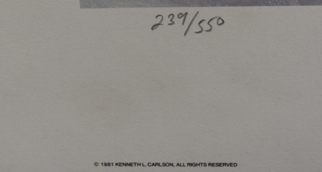 Ken Carlson Ltd. Print Sgd. - 3