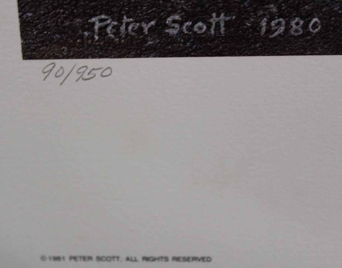 Sir. Peter Scott. Sgd. Print. - 3