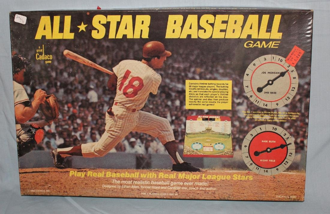 Baseball Board Games. All*Star  Baseball & a 2nd - 3