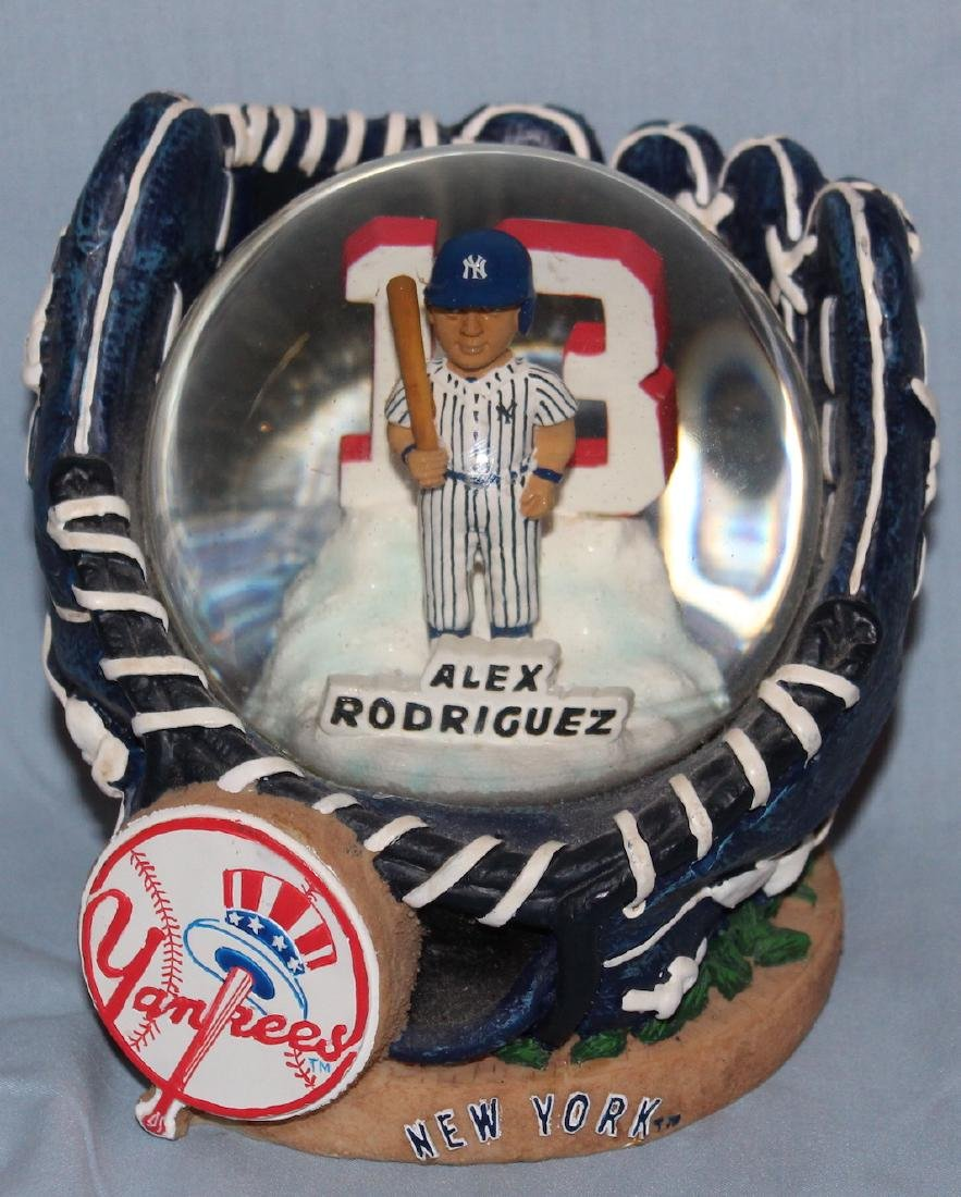 Alex Rodriguez Collectible Snow Globe