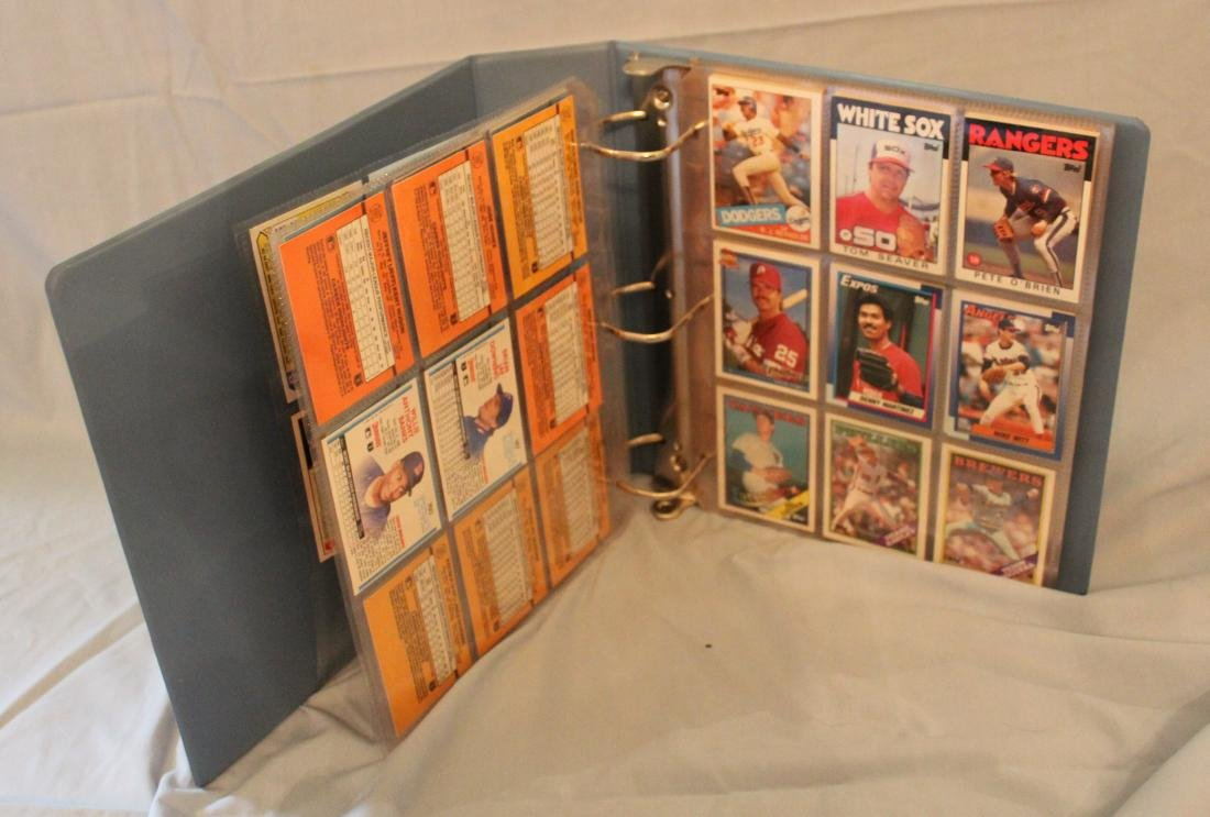 Baseball Card Album. Mostly 1988 (Approx.161)
