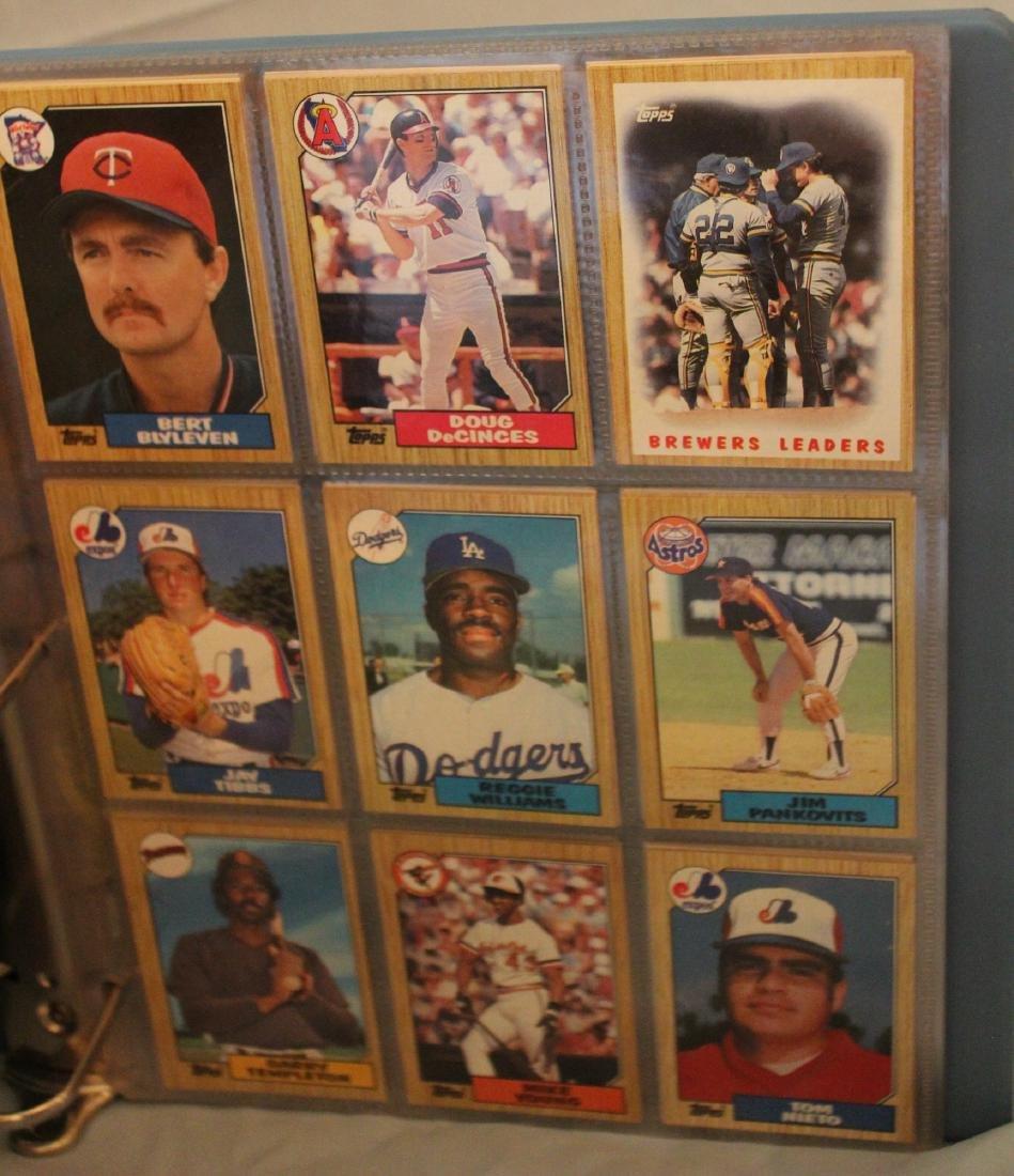 Baseball Card Album. Mostly 1988 (Approx.161) - 3