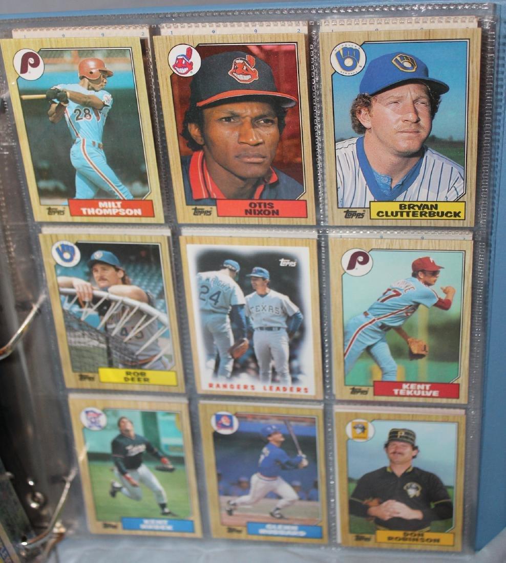 Baseball Card Album. Mostly 1988 (Approx.161) - 4