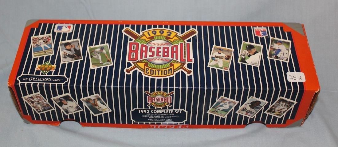 1992 Baseball Ediiton 800 Card Set