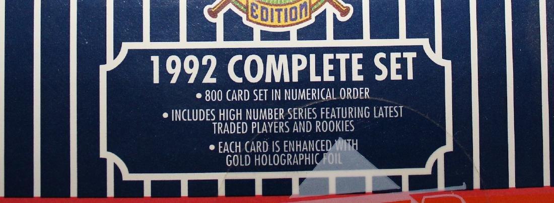 1992 Baseball Ediiton 800 Card Set - 2