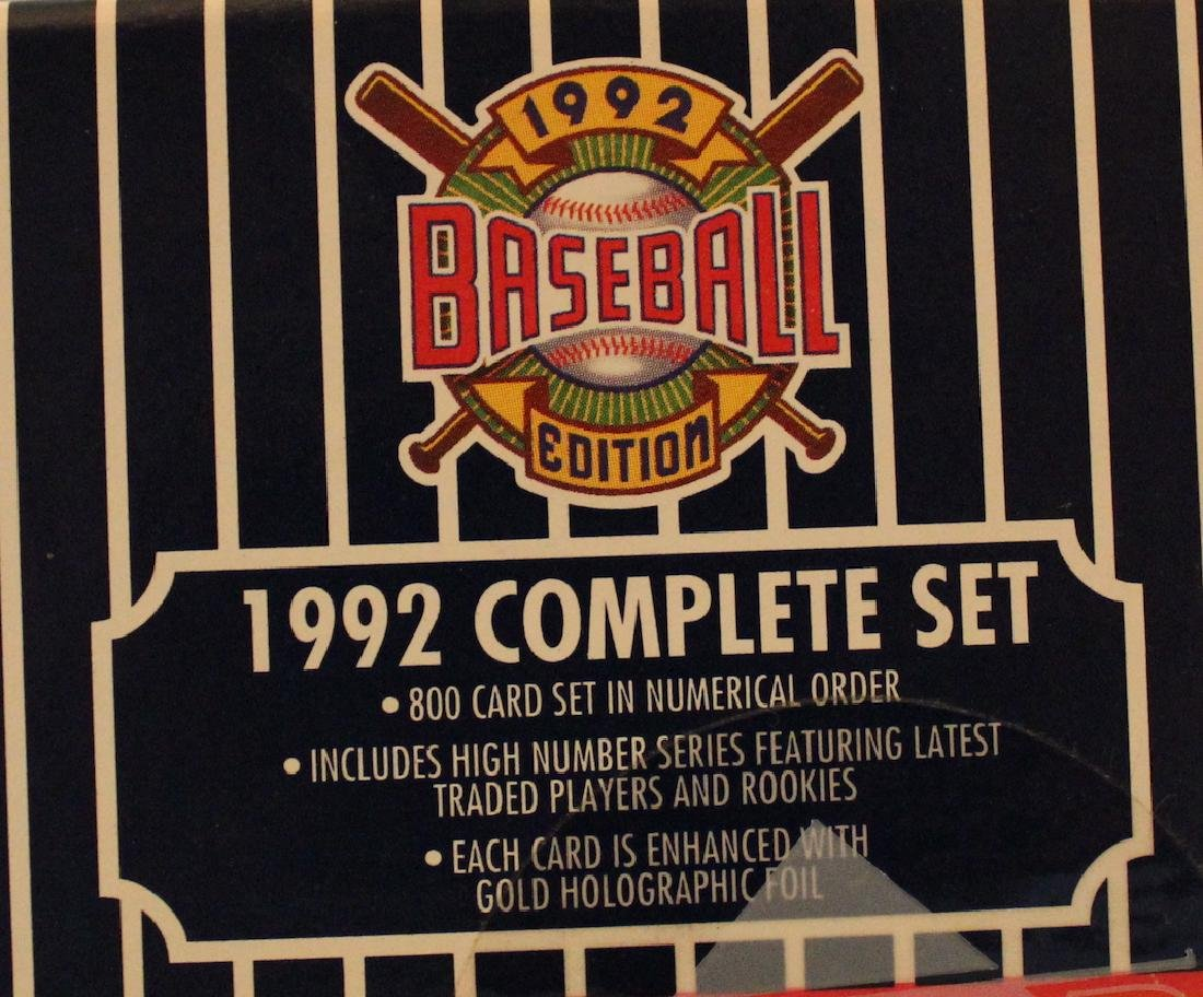 1992 Baseball Ediiton 800 Card Set - 3