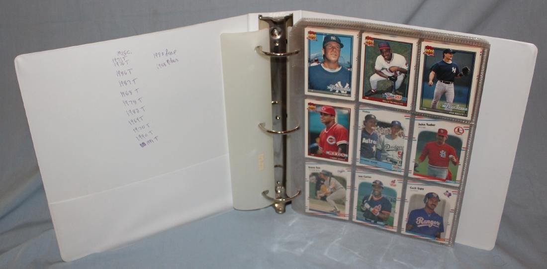 Baseball Card Album . Approximately 160 1960's-1978 .