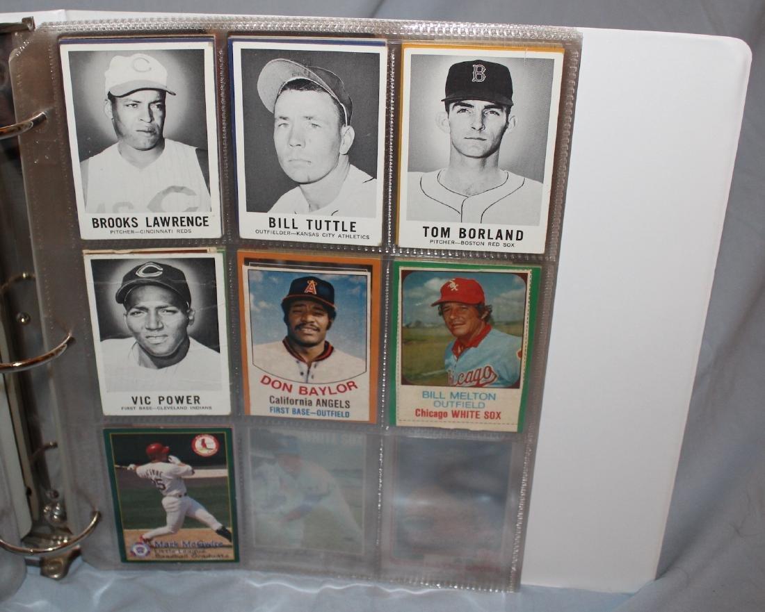 Baseball Card Album . Approximately 160 1960's-1978 . - 4