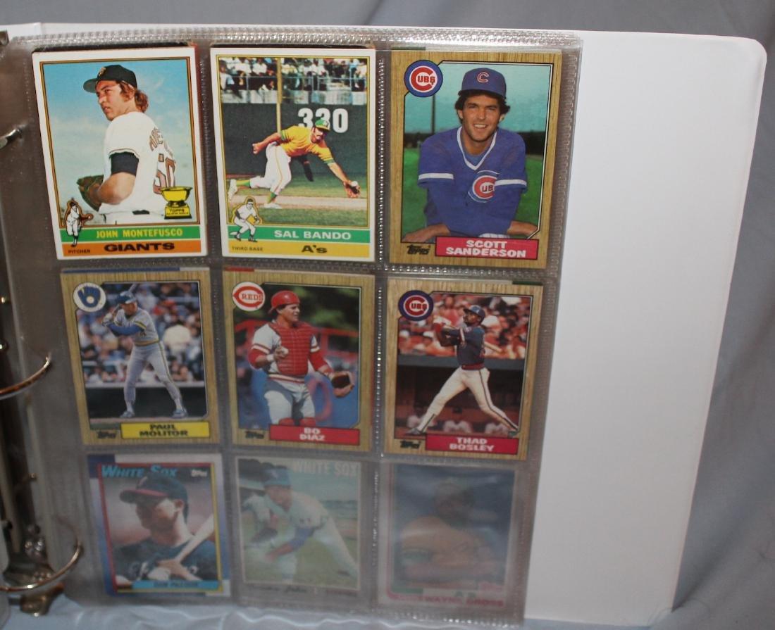 Baseball Card Album . Approximately 160 1960's-1978 . - 5