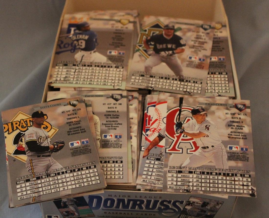 Donruss Series 1 Baseball Card Se