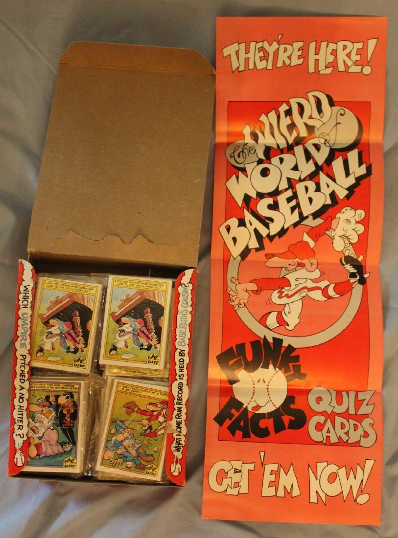 Weird World Baseball Cards. - 2
