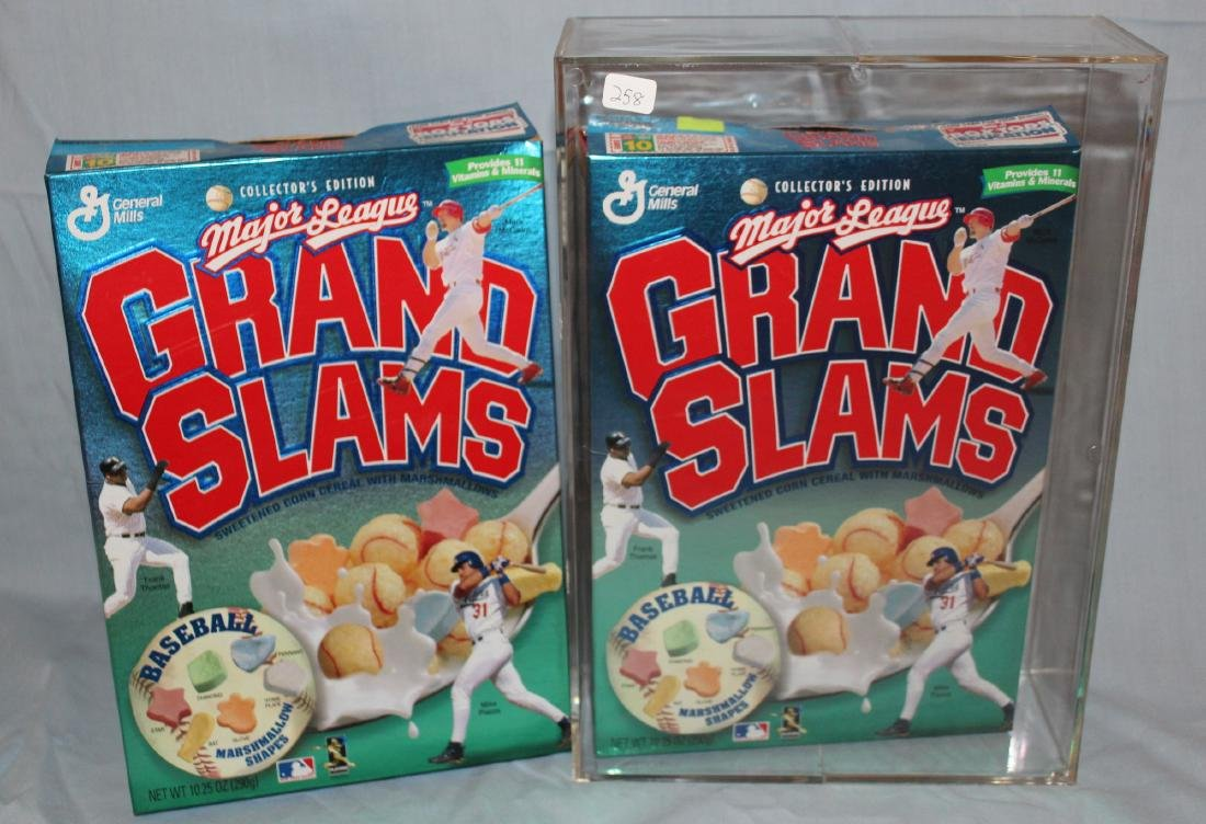 Grand Slams  Cereal Boxes