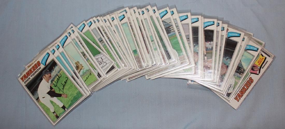 Yankees 1977 Cards (42)