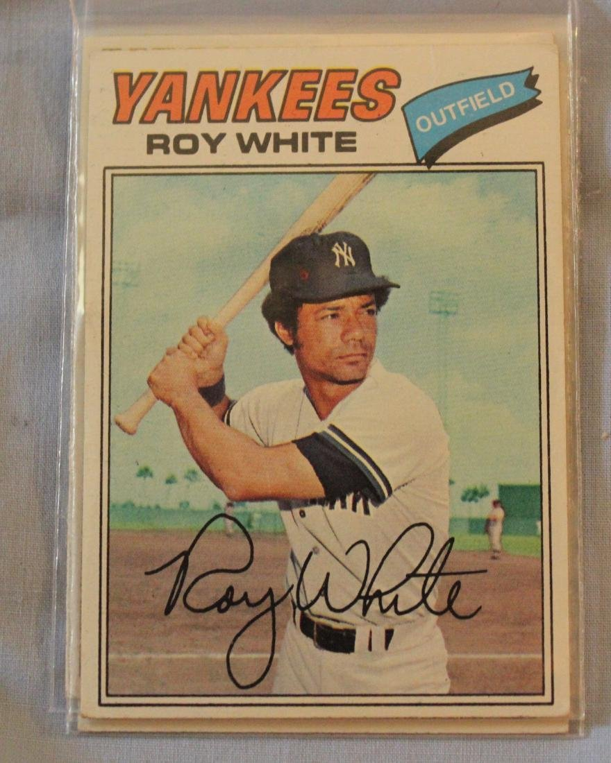Yankees 1977 Cards (42) - 2