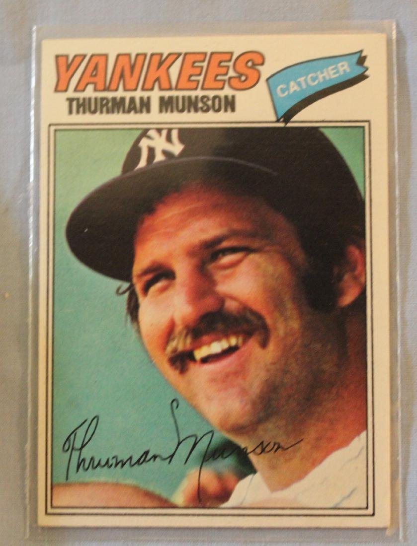 Yankees 1977 Cards (42) - 3