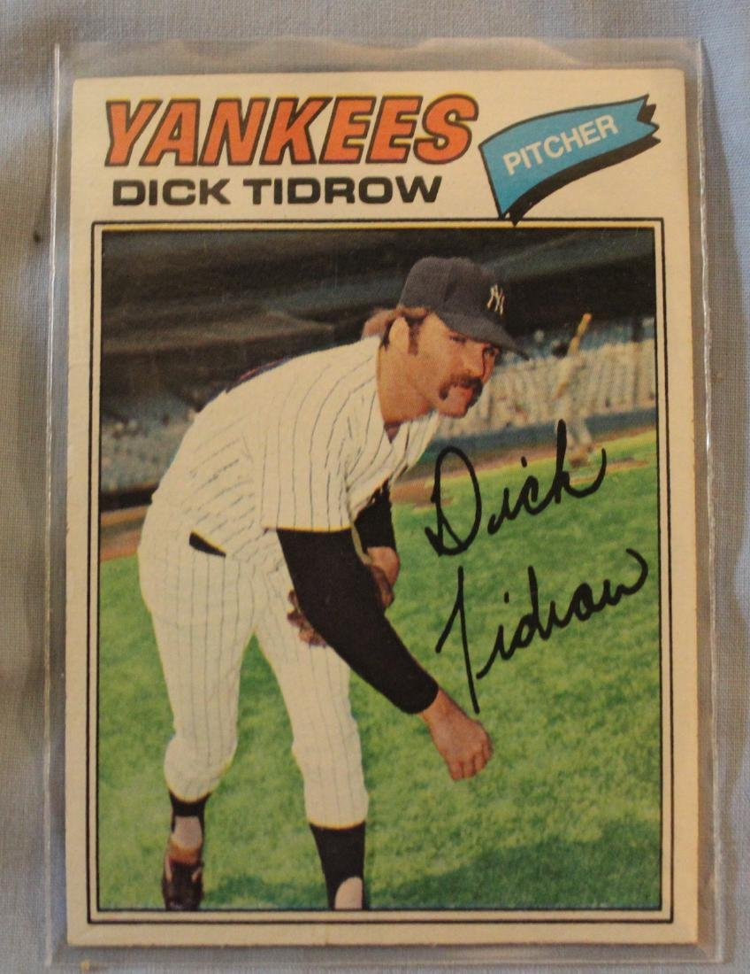 Yankees 1977 Cards (42) - 4