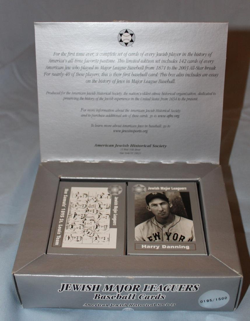 Jewish Major Leaguers Baseball Cards (142)