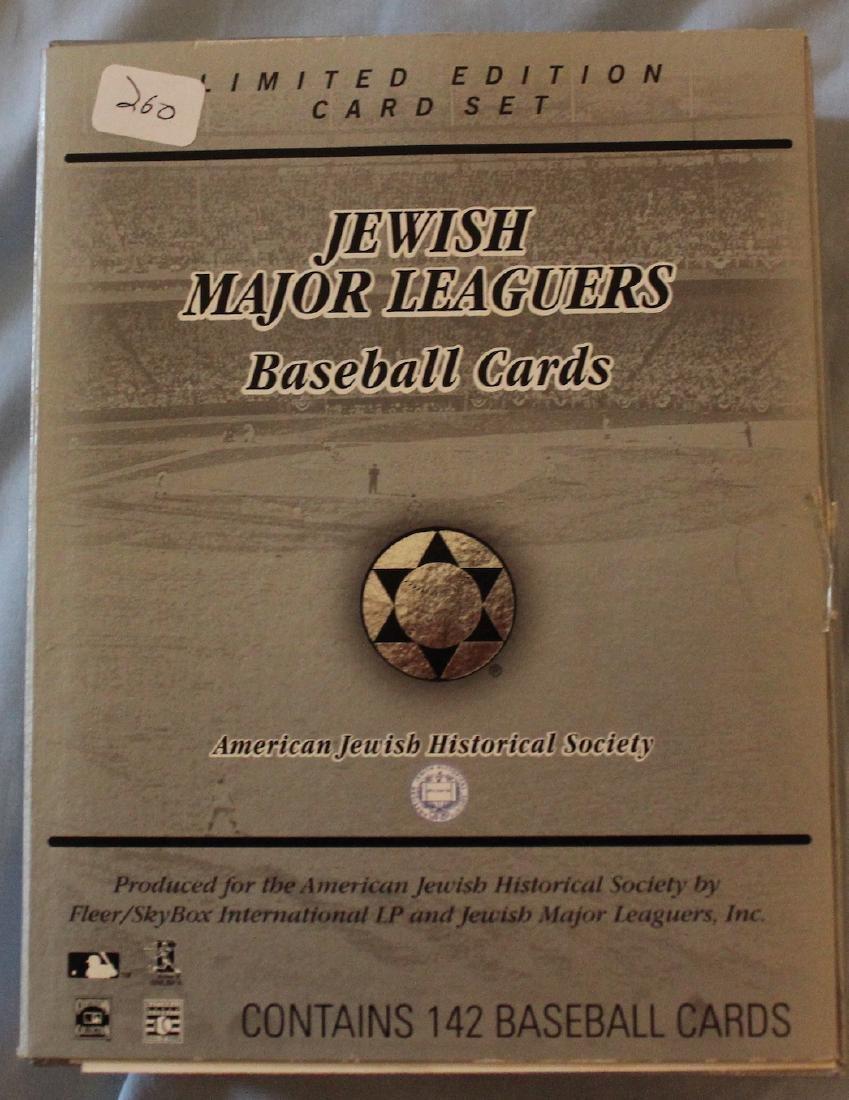 Jewish Major Leaguers Baseball Cards (142) - 2
