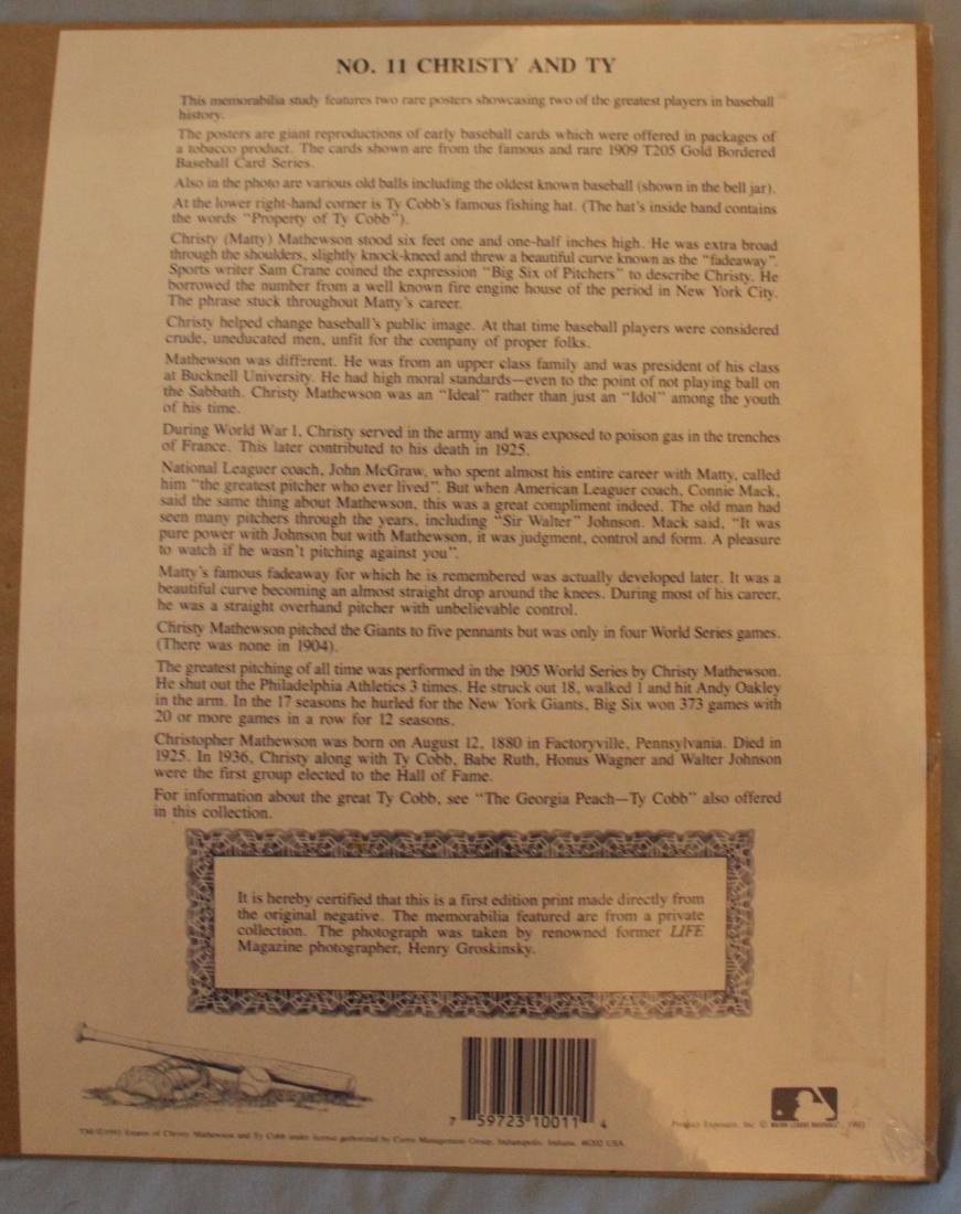 Mathewson-Cobb First Edition Print. - 2