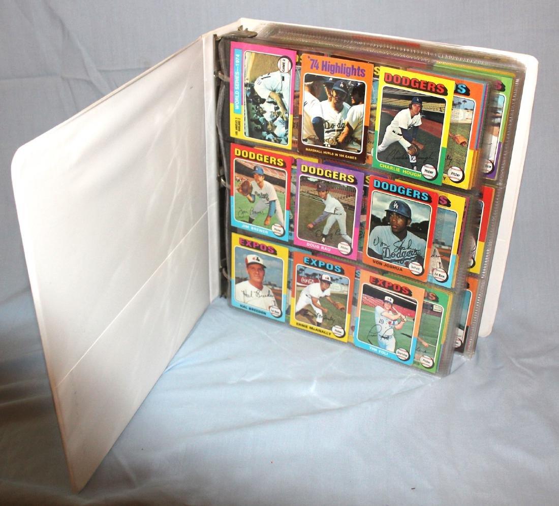 1975 Topps Baseball Album ( Approx. 455)