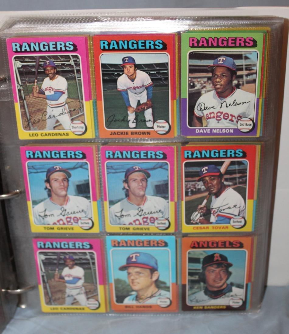 1975 Topps Baseball Album ( Approx. 455) - 2
