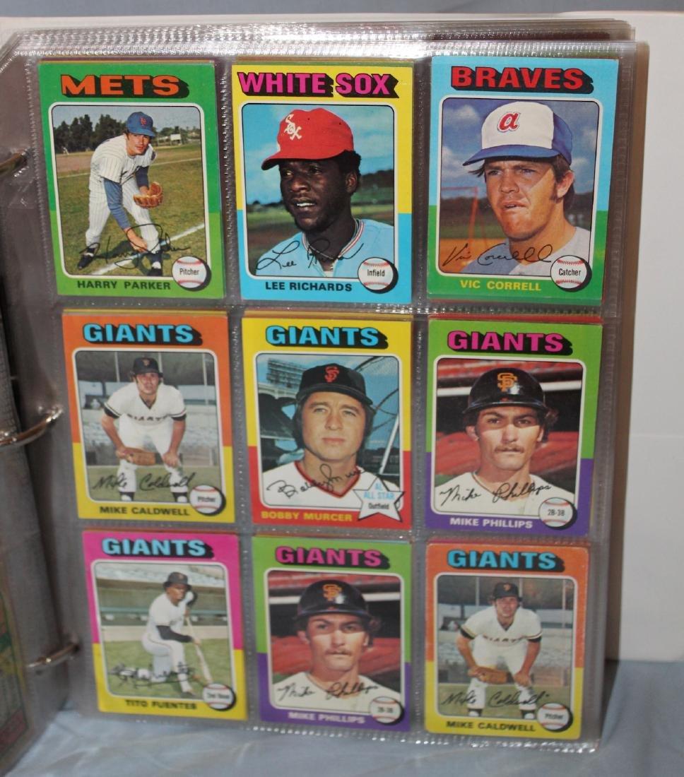 1975 Topps Baseball Album ( Approx. 455) - 3