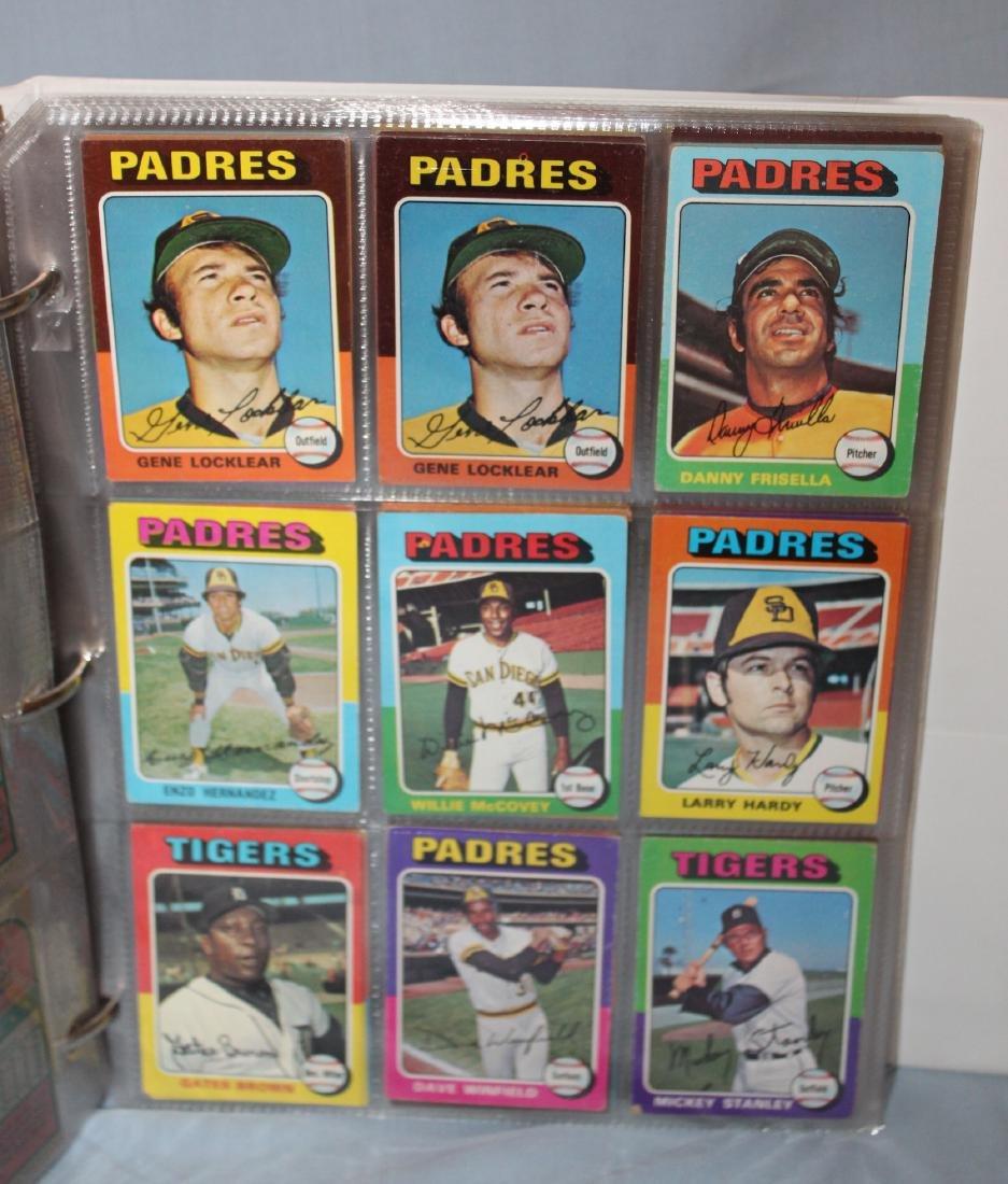 1975 Topps Baseball Album ( Approx. 455) - 4