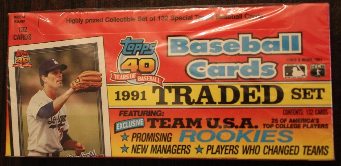 1991 Topps 40 Years of Baseball Cards
