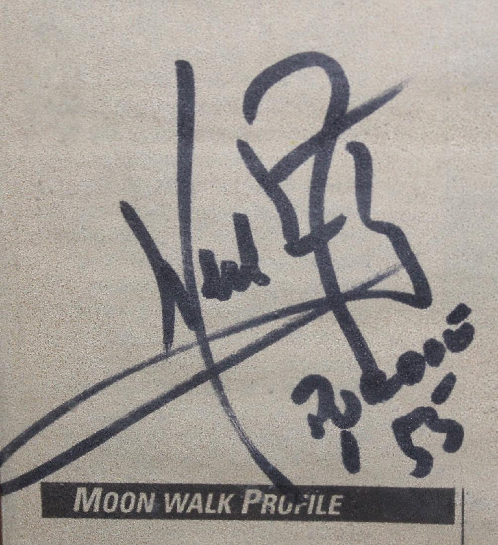 Newspaper Signed Neil Armstrong on the Lunar Page - 2