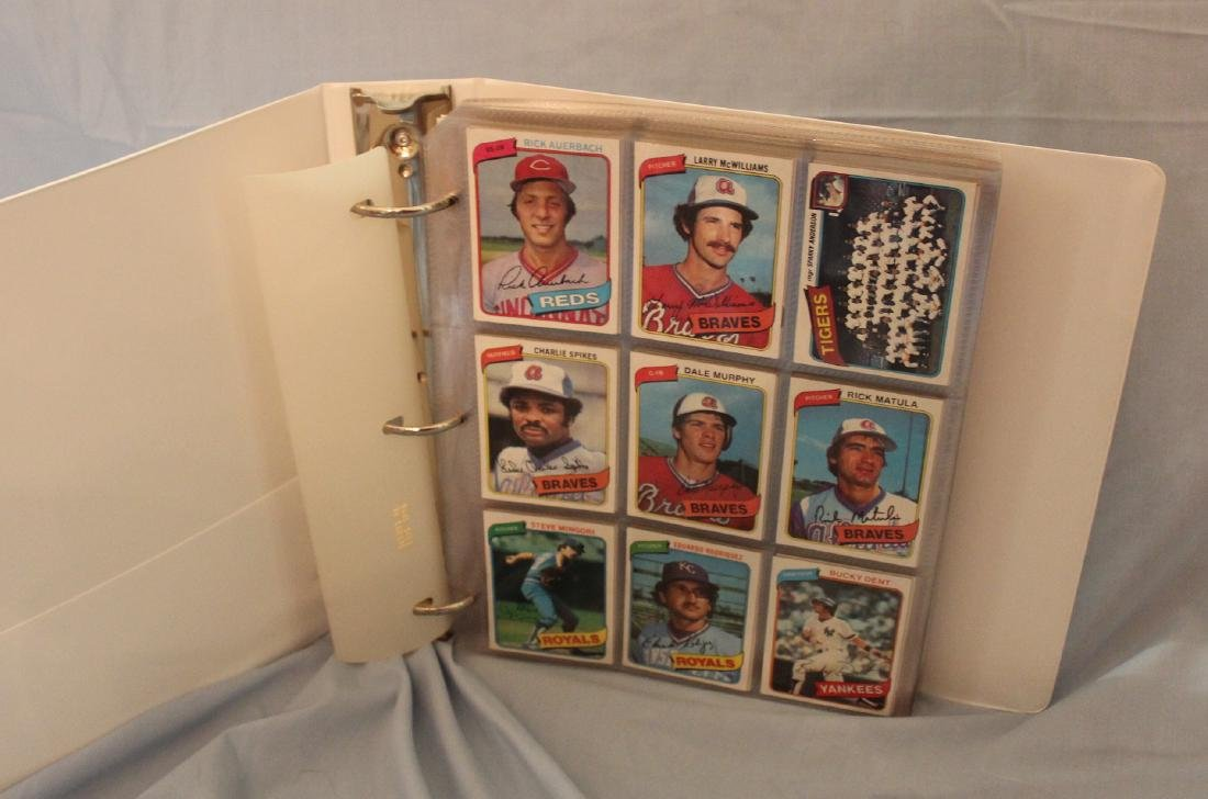 Baseball Card Album.  Approx. 180 cards in the lot.