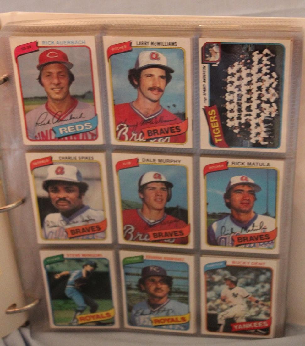 Baseball Card Album.  Approx. 180 cards in the lot. - 2