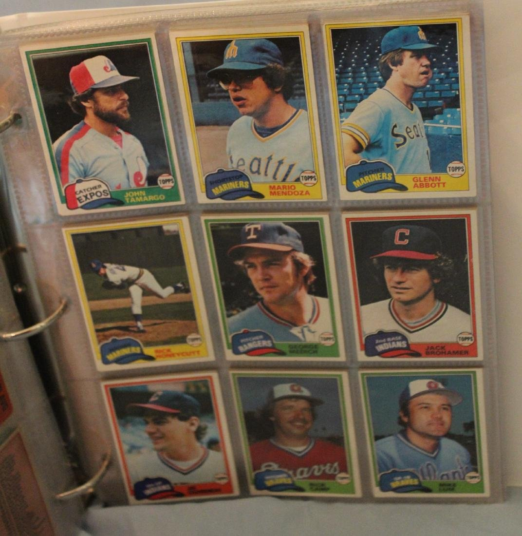 Baseball Card Album.  Approx. 180 cards in the lot. - 3