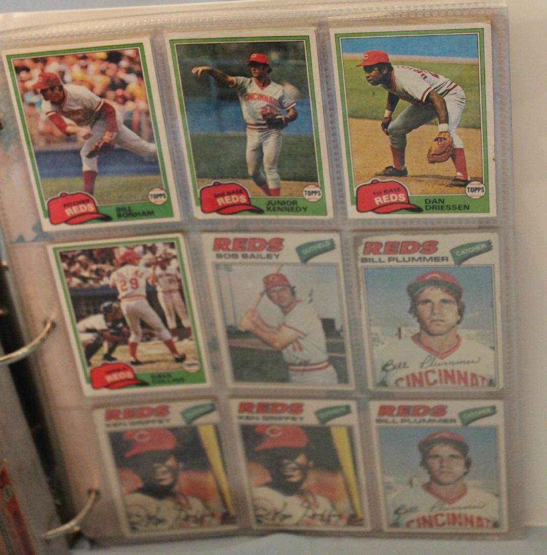 Baseball Card Album.  Approx. 180 cards in the lot. - 4