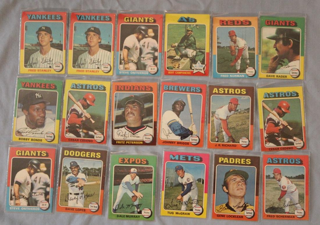 Baseball Cards.  Approx. 18