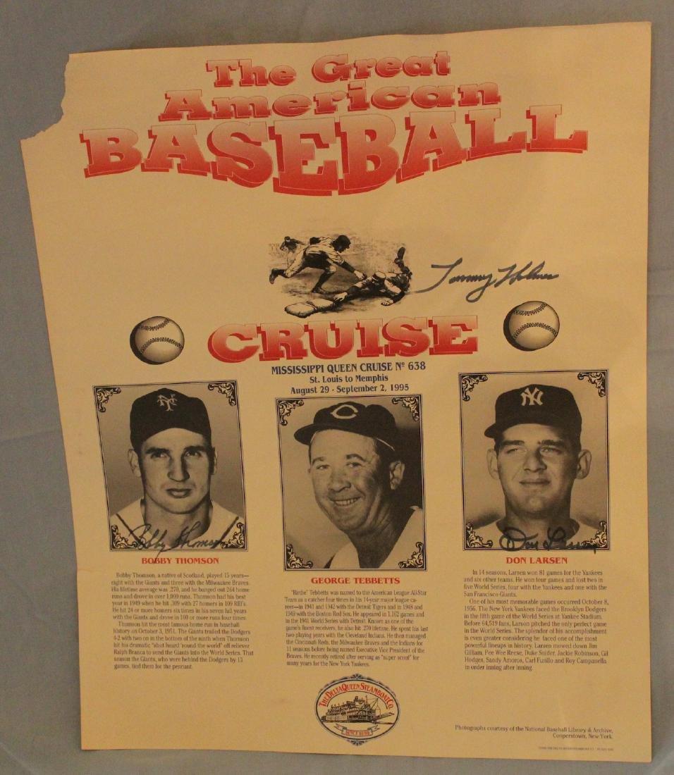 Great American Baseball Cruise Poster