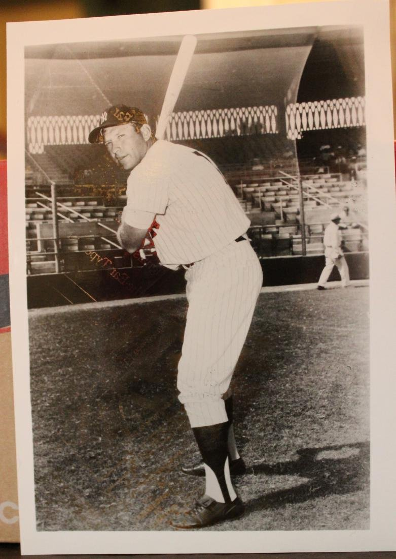 Mickey Mantle Photographs. Drug Co. Promos (2)