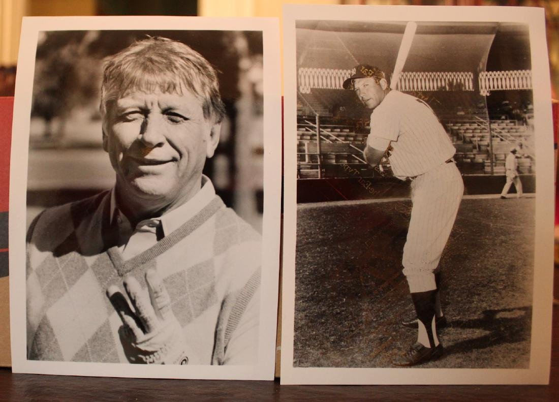 Mickey Mantle Photographs. Drug Co. Promos (2) - 2