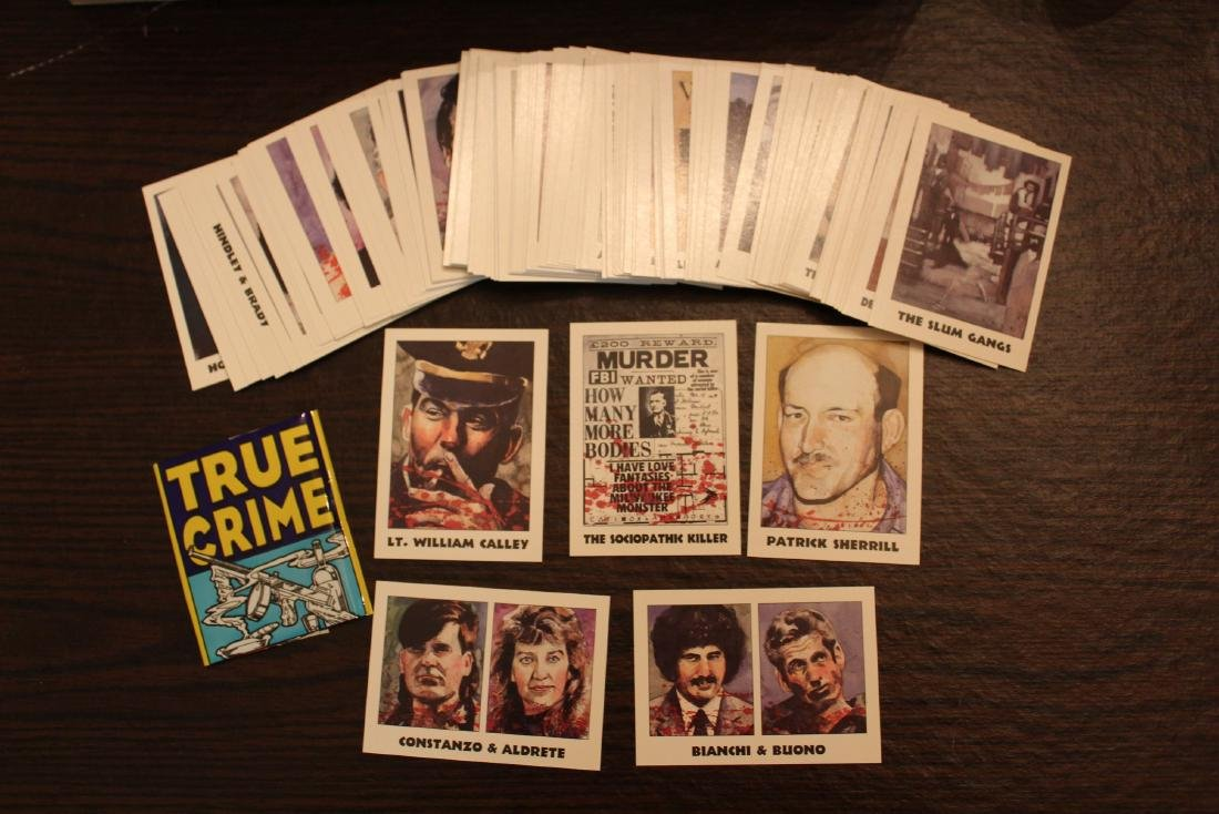 True Crime Card Set