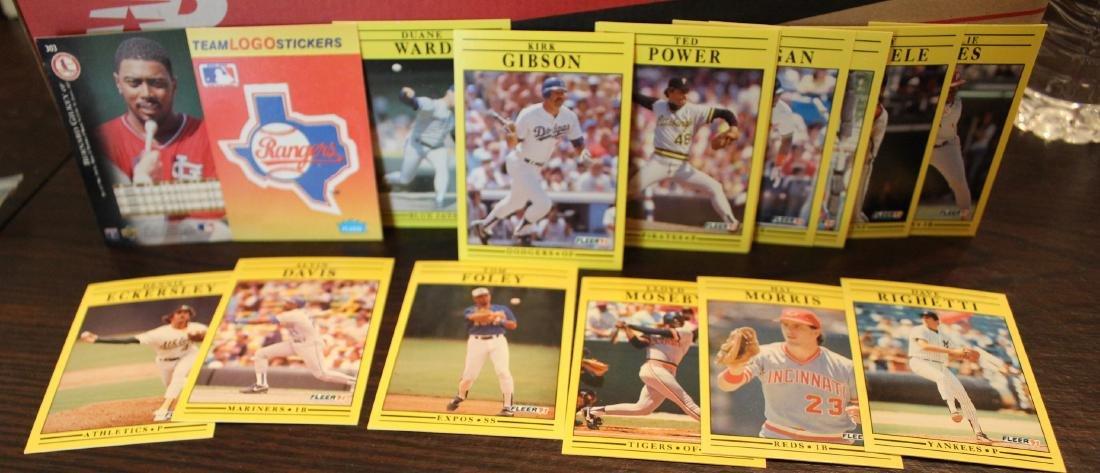 Fleer 91 Trading Cards. (14)