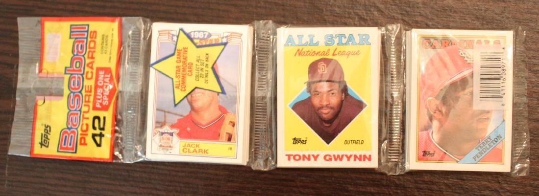 1988 Topps Baseball Picture Cards. 42 Unopened.