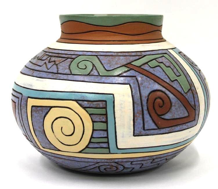 American Southwest Indian Pottery Jar - 2