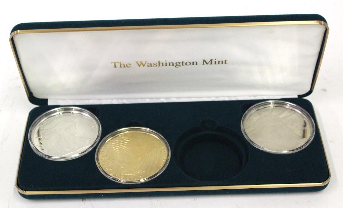 The Washington Mint Eagle Set (3)