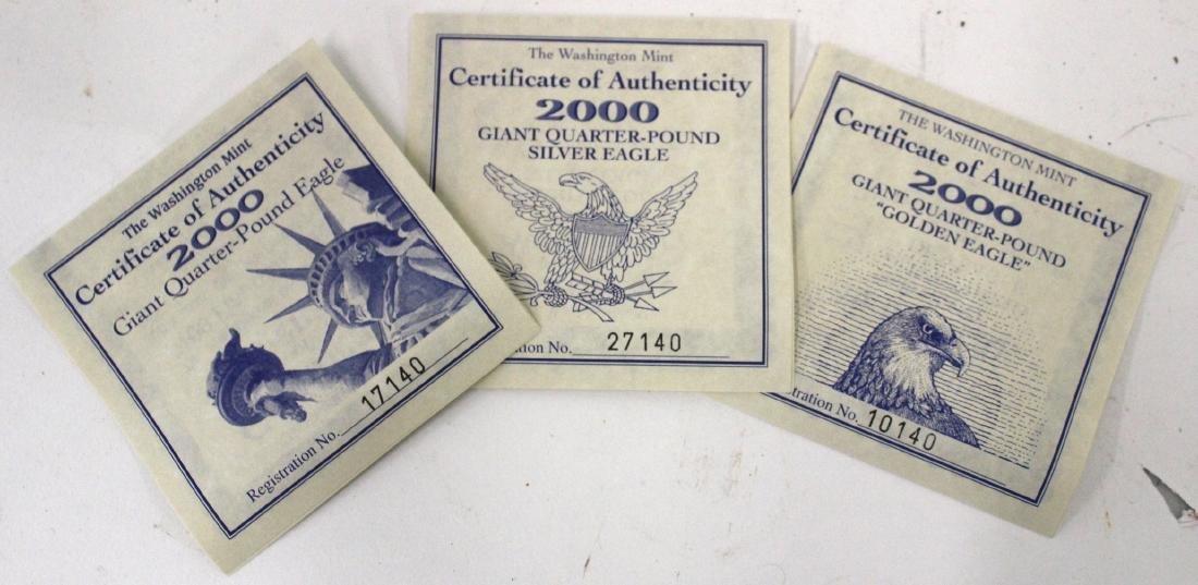 The Washington Mint Eagle Set (3) - 5