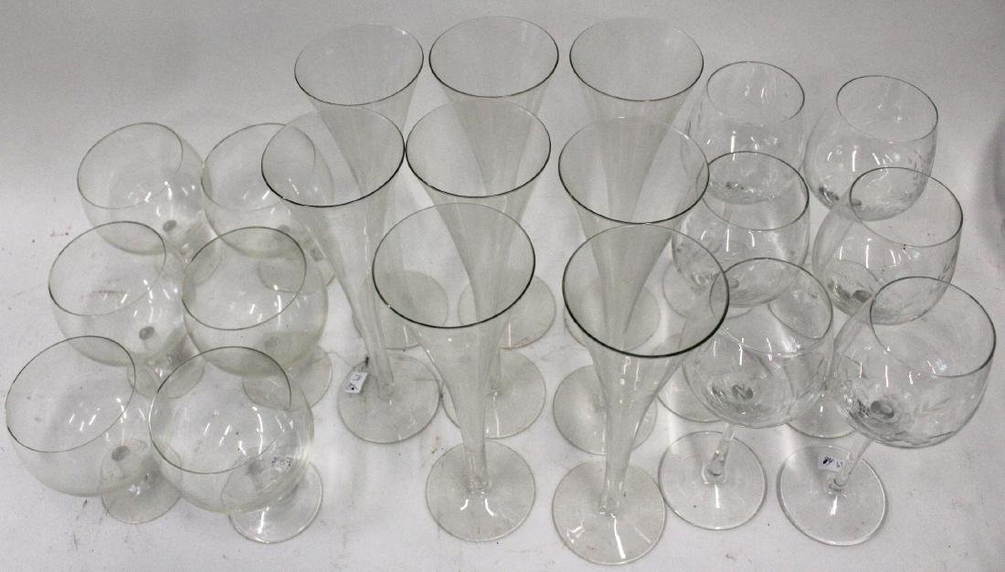 Crystal Stemware. Champagnes. Brandies and Wines (20) - 2