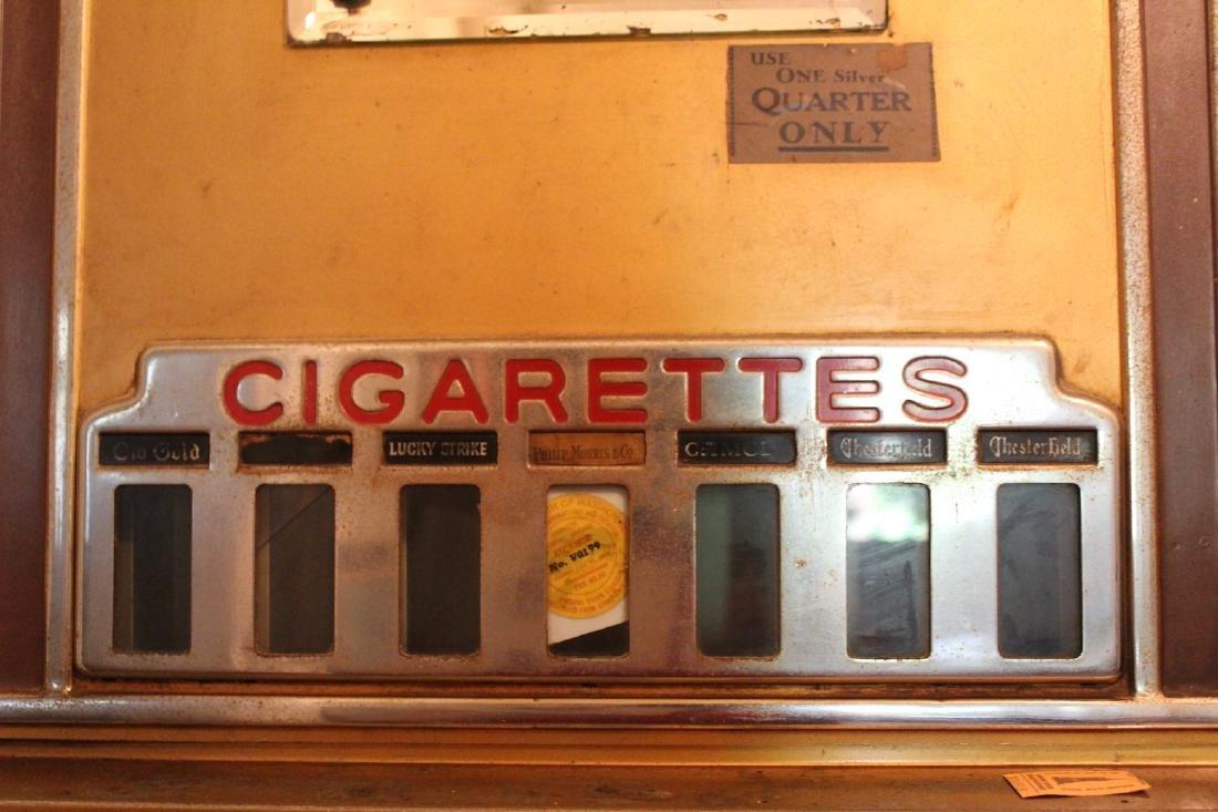 Art Deco Cigarette Vending Machine Empire State Bldg. - 2