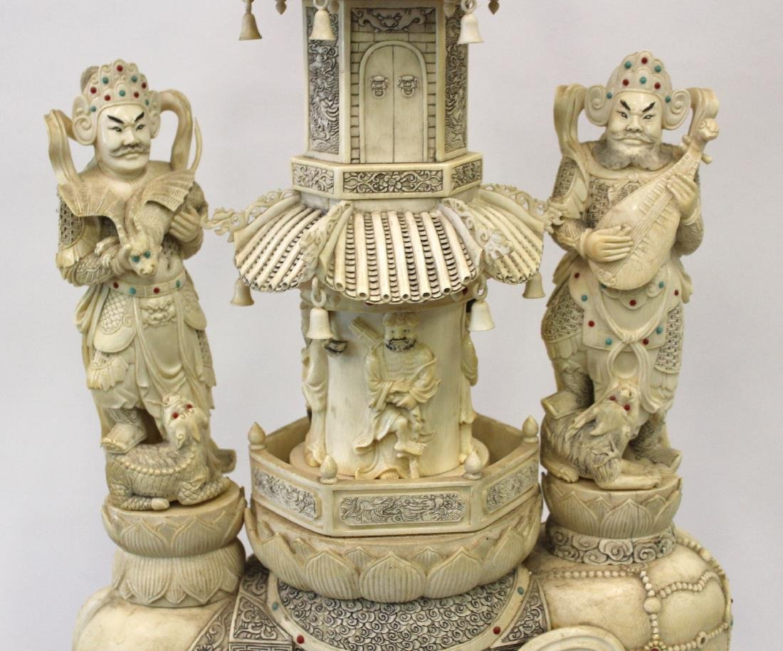 19th C. Carved Oriental Pagoda - 2
