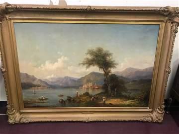 Karl Friedrich Christian Welsch. Oil  Sgd.